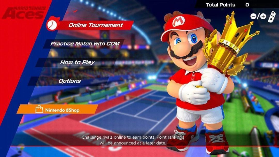 Mario Tennis Aces Demo